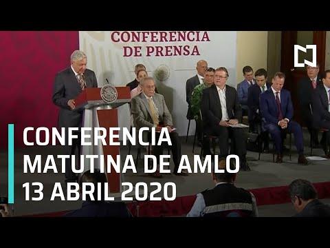 Conferencia matutina AMLO/ 13 de abril 2020