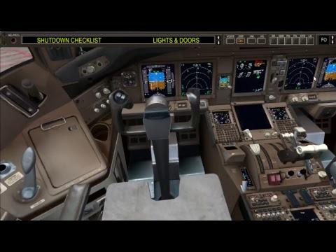 [FSX] Full Flight Jakarta - Denpasar Garuda Indonesia B777