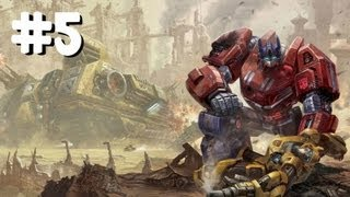 Transformers: Fall Of Cybertron PC Campaign Gameplay [Part 5/5] (Optimus Prime)