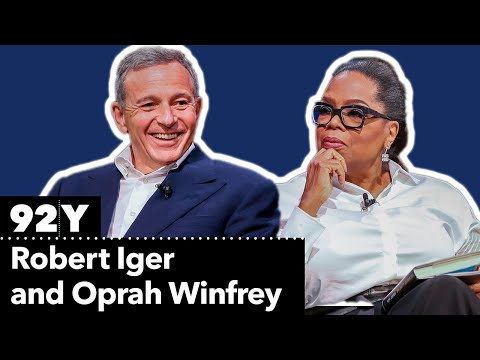 Disney CEO Robert Iger talks with Oprah Winfrey about his life and career at Disney