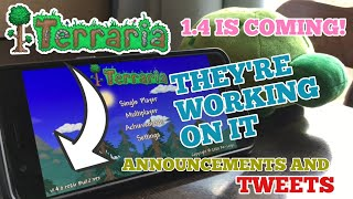 1.4 MOBILE IS JUST AHEAD!!! | THEY'RE WORKING ON IT FAST!!! (Terraria 1.4: Journey's End Update)