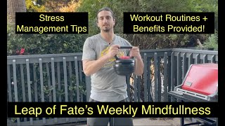 How To Relieve Stress in YOUR Daily Life? | Workout Tips for Stress Relief (Weekly Mindfulness)