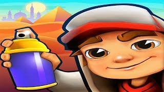Subway Surfers Cairo Android Gameplay #3