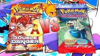Ouverture Pokémon ◓ Booster EX Team Magma / Aqua VS Booster XY Double Danger | LA CARTE DE RÊVE ♡