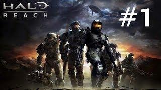 """Halo Reach Cutscenes - Часть 1 """"Команда Ноубл"""""""