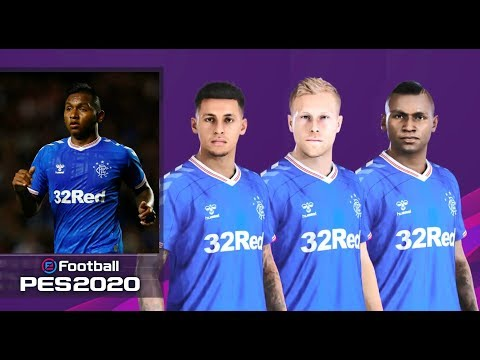 EFootball PES 2020 Rangers FC Faces, Stats & Overalls | PS4