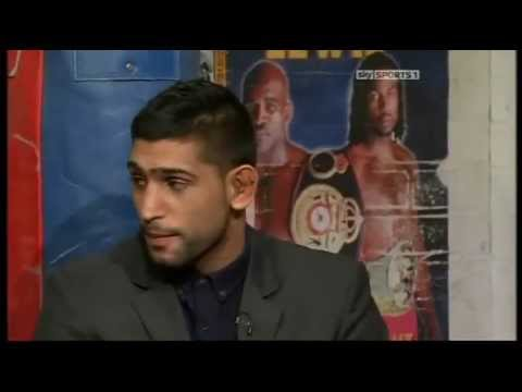 Amir Khan On His Loss To Lamont Peterson