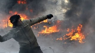 Ukraine protests: Prime minister submits his resignation