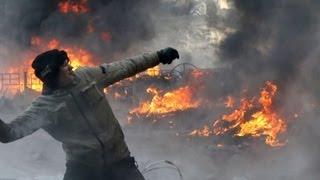 Ukraine protests: Prime minister submits his resignation