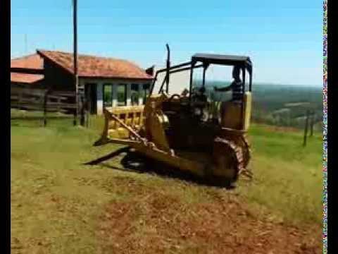 TRATOR DE ESTEIRAS FIATALLIS 70CI (SETENTÃO)