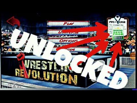 Wrestling revolution 3d pro unlocked mod download apk with proof