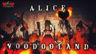 """RoughSketch / ALICE IN VOODOOLAND"" http://notebookrecords.net/cd/n..."