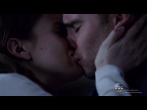 Agents of S.H.I.E.L.D 3x08: Leo & Jemma #4 [First Kiss scene]