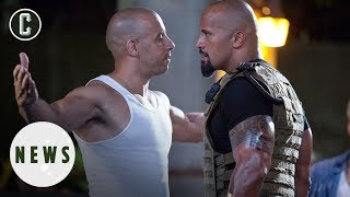 The Rock Might Not Return for Fast and Furious 9 - Vin Diesel Feud to Blame?