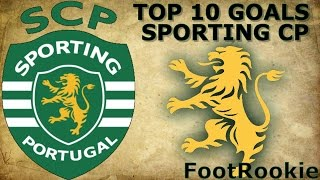 Top 10 Goals • Sporting CP • 2015-2016 • RelatosPT