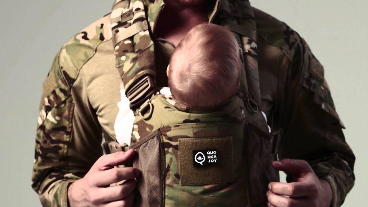 Quokkajoy Multicam And Multicam Black Baby Carrier
