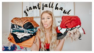 HUGE FALL TRY-ON CLOTHING HAUL!! FT. FOREVER 21
