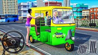 Auto Tuk Tuk Rickshaw Driving Simulator - City Mountain Auto Game - Best Android GamePlay screenshot 3