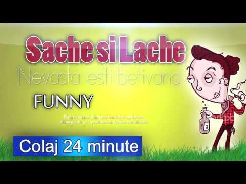 Parodii Muzicale Funny cu Sache si Lache - Nevasta esti betivana (COLAJ 24 min)