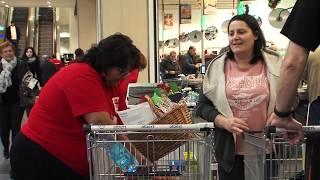 Národní potravinová sbírka - lidé pomáhali spoluobčanům v nouzi po celém Česku