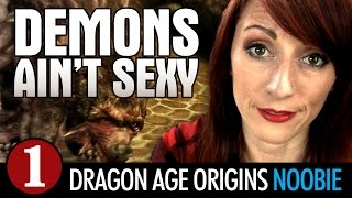 Dragon Age Origins: A N00B'S FIRST TIME - Late to the Game Ep1