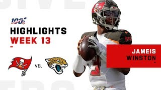 Jameis Winston Pounces on Jaguars w/ 268 Passing Yds | NFL 2019 Highlights