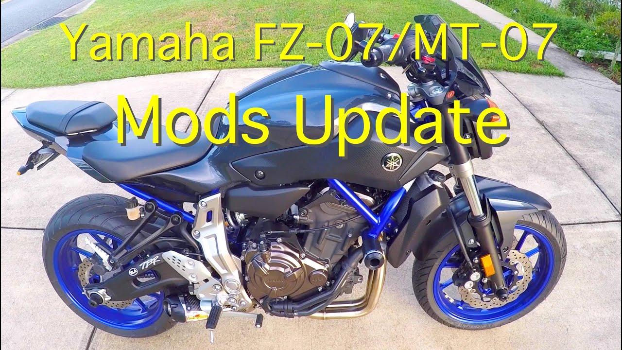 Yamaha Fz 07 Mods Mod Update After 6 Weeks On My Fz07mt07