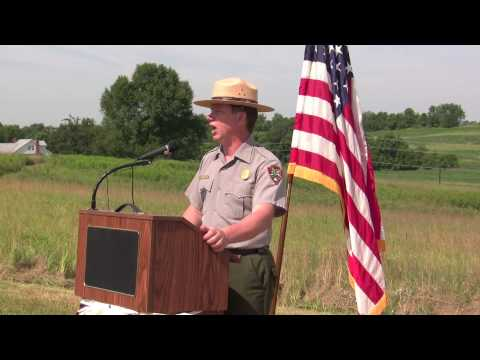 Harpers Ferry Land Transfer Ceremony - Opening Remarks from Dennis Frye