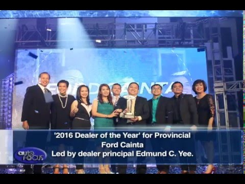 Ford Manila Bay 2015 Dealer of the Year - Industry News