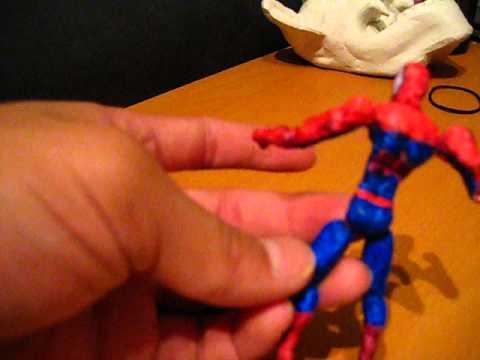 Paper Spiderman Figure