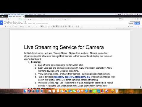 Build Live Video Streaming Server using ffmpeg Nginx Rtmp