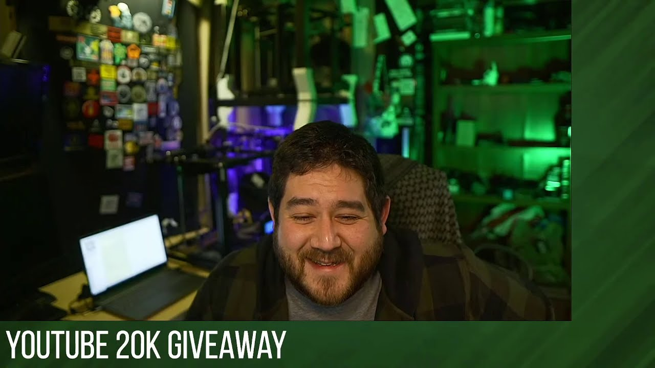 YouTube 20k Giveaway Start Announcement (@bobwidlefish stream)