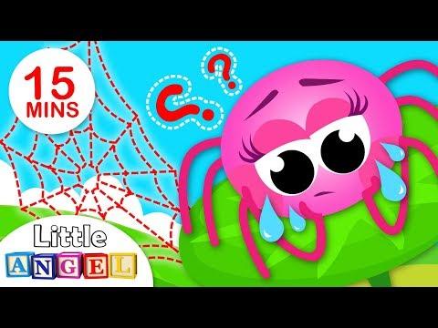 Where is My Web 2 ?| Paw Patrol Save Humpty Dumpty | 3 Little Pigs | Nursery Rhymes by Little Angel
