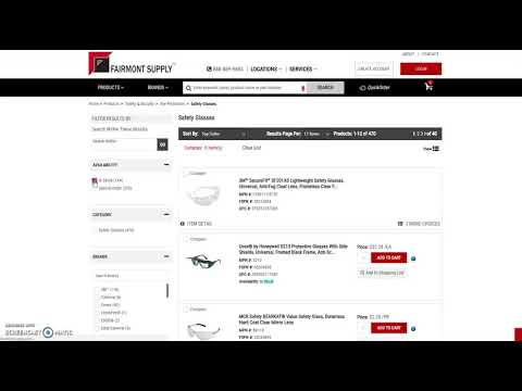 Fairmont Supply How To Website Product Availability Filter
