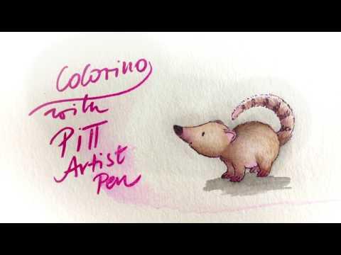 Colorieren mit Pitt