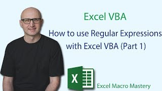How to use Regular Expressions with Excel VBA (Part 1)