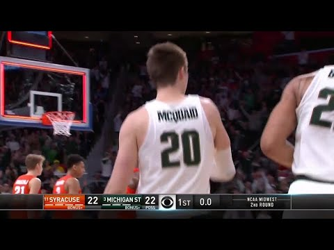 Michigan State Spartans vs. Syracuse Orange: 1st Half Highlights