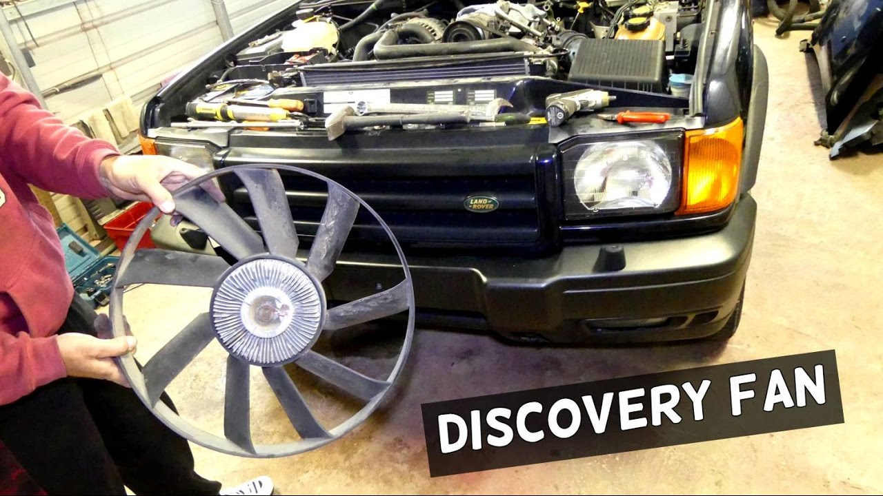 Land Rover Discovery Radiator Fan Clutch Removal Replacement 1999 Disco 2 Wiring Diagram
