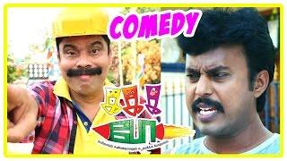 Ka Ka Ka Po Tamil movie | Comedy Scenes | Sakshi Agarwal | Keshavan | Karunas | M S Bhaskar