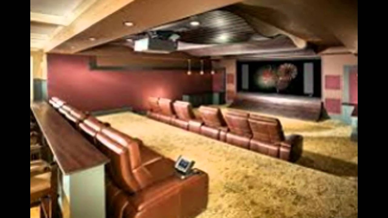 basement home theater design. Amazing Basement Design Ideas for Great Home Theater Styles  YouTube