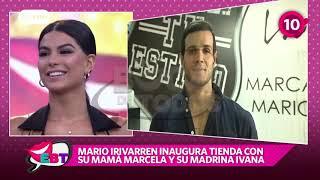 Yvana Yturbe y Mario Irivarren confirmaron su reconciliación con tierno beso