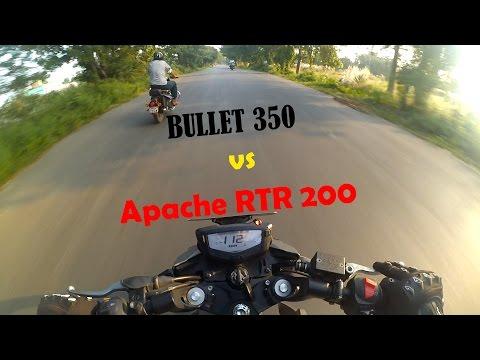 Royal Enfield Classic 350 vs TVS Apache RTR 200 4v | Dangerous Street Race | Episode 4 |