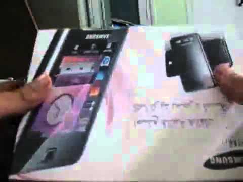 Samsung SGH-f480i Unboxing