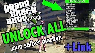 GTA 5 Unlock all for FREE (NO JAILBREAK) ★ Zum selber machen ★  │ Mod Menu Download für PS3/4