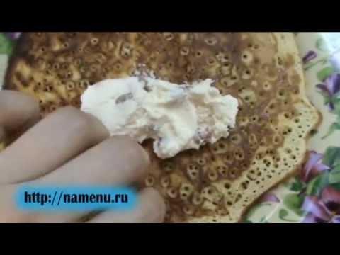 Рецепт блинчиков с творогом.avi