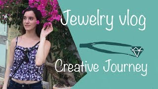 VLOG 2 | CREATIVE JOURNEY, JEWELRY MAKING,  HANDMADE ENGAGEMENT RING, DAY TO DAY SMALL BUSINESS
