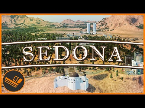 Sedona - Part 77 | UNIVERSITY BUILD (Cities: Skylines)