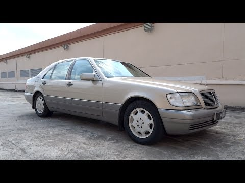 1995 Mercedes-Benz S 320 (LWB) Start-Up And Full Vehicle Tour