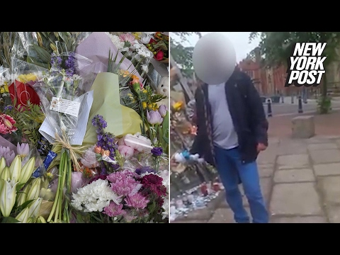 Dirtbags caught taking flowers from Manchester terror attack memorial | New York Post
