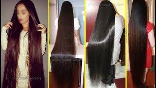 Homemade Secret Oil To Double Your Hair Growth, Grow Super Long Hair & Thicker Hair